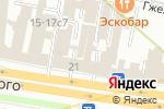 Схема проезда до компании Огни Москвы в Москве
