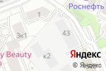 Схема проезда до компании Харизматичная Леди в Москве