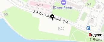 Сервис-Деталь на карте Москвы