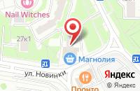 Схема проезда до компании Бона Веста в Москве