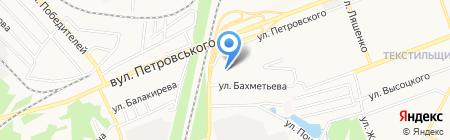 Оскар на карте Донецка