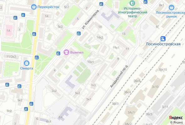 жилой комплекс Улица Коминтерна, 10