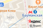 Схема проезда до компании Сеть часовых мастерских в Москве