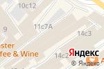 Схема проезда до компании Стильное начало в Москве