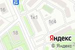 Схема проезда до компании Адвокатский кабинет Бурова М.М. в Москве