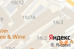 Схема проезда до компании Конфиденс Групп в Москве