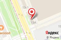 Схема проезда до компании Промышленно-Инвестиционная Группа «Промнедра» в Москве