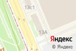 Схема проезда до компании Асеанру тур в Москве