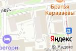 Схема проезда до компании Comic Street в Москве