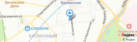 Мода-Тур на карте Москвы