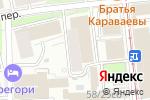 Схема проезда до компании Аскор Студия в Москве