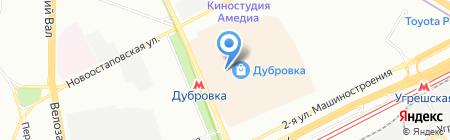 BLACK DAFFODIL на карте Москвы