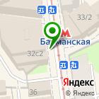 Местоположение компании Парикмахерский