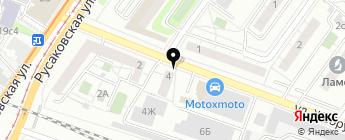 Все для Opel на карте Москвы