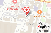 Схема проезда до компании Пластавто в Москве