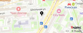 Московский паркинг на карте Москвы