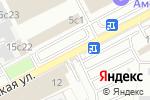 Схема проезда до компании ШВЕЙПРОМ в Москве