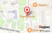 Схема проезда до компании Амс Строй в Москве