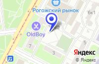Схема проезда до компании КБ СЛАМЭК-БАНК в Москве