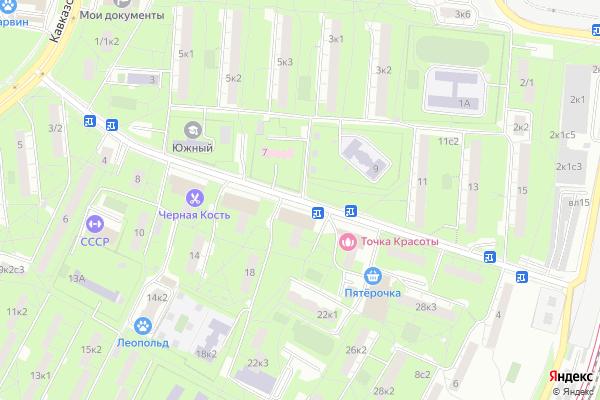 Ремонт телевизоров Улица Медиков на яндекс карте