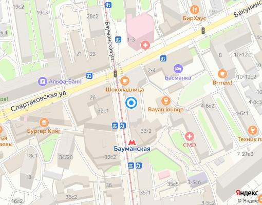 Товарищество собственников жилья «Слобода» на карте Москвы