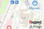 Схема проезда до компании Bliss в Москве