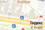 Схема проезда до компании Мос Бизнес Групп в Москве