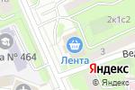 Схема проезда до компании The Slice Pizza в Москве