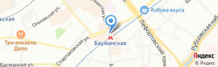 Печатик на карте Москвы