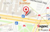 Схема проезда до компании Медиастрой в Москве