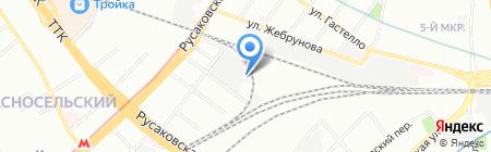 Окнорус на карте Москвы