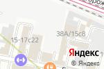 Схема проезда до компании НПО МИДАСОТ в Москве
