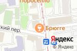 Схема проезда до компании Брюгге в Москве
