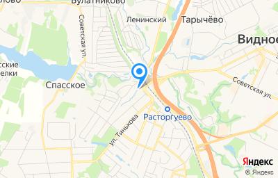 Местоположение на карте пункта техосмотра по адресу Московская обл, г Видное, ул Набережная, д 1В