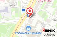Схема проезда до компании Юрита-М в Москве