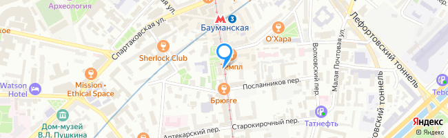 Бауманская улица