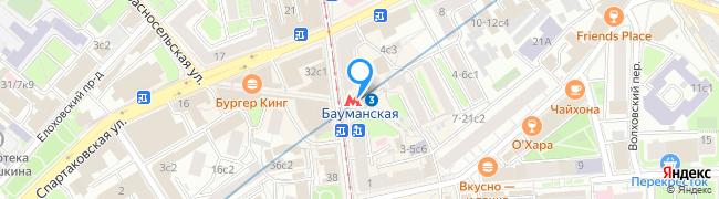 метро Бауманская