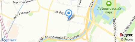 Инвертис на карте Москвы