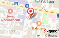 Схема проезда до компании Внииос-Наука в Москве