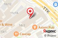 Схема проезда до компании Стройподрядсервис в Москве