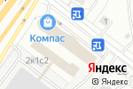 Схема проезда до компании Компас в Москве