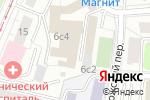 Схема проезда до компании Финансовое бюро в Москве