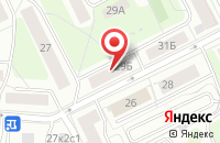 Схема проезда до компании Никкель в Москве
