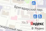 Схема проезда до компании Алгет в Москве