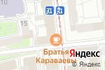 Схема проезда до компании Интер-Этон в Москве
