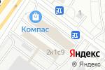 Схема проезда до компании Донатор в Москве