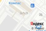 Схема проезда до компании Мостранссклад в Москве