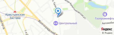 Замер на карте Москвы