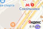 Схема проезда до компании Часовых дел мастер в Москве