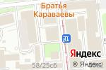 Схема проезда до компании АКБ Банк на Красных Воротах в Москве